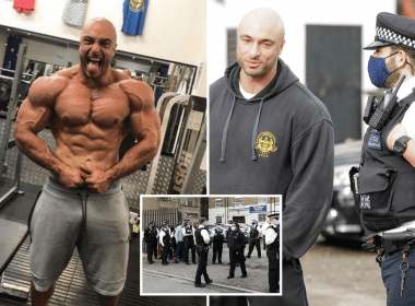 Over 30 Police Raid Gym Owner Who Refused To Close For Lockdown