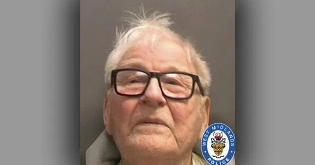 84-Year-Old Paedophile Jailed For 27 Offences On Victims As Young As 8